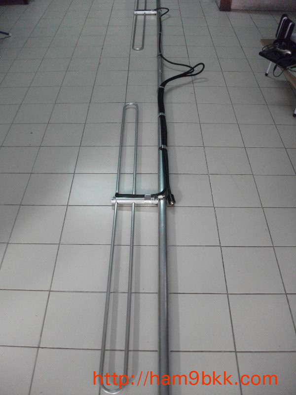 ขมรมสูตรสร้างสายอากาศสำหรับสถานีเอฟเอ็มเพื่อการศึกษา ความถี่ 89-93 MHz