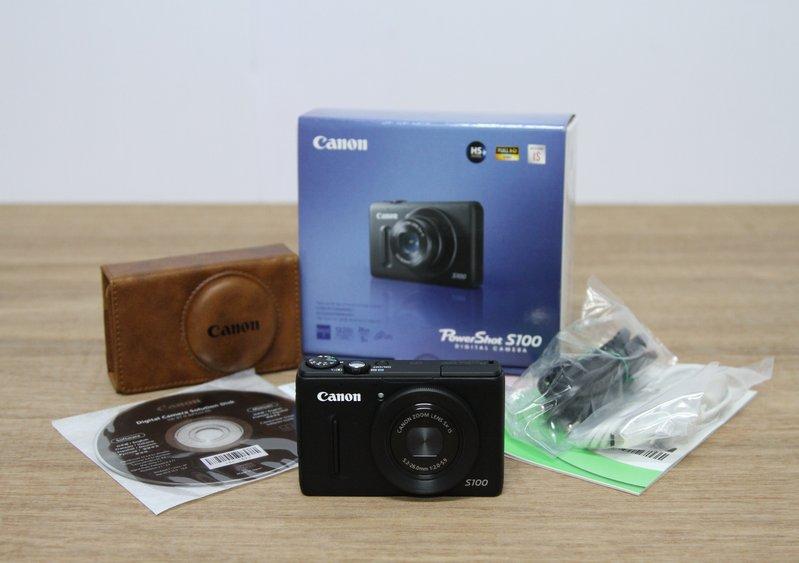 Canon PowerShot S100 รุ่นบางเฉียบและฉลาดสุดสุด ราคา 12,500 บาท เครื่องประกั