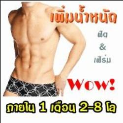 ฟรีโฆษณา ฟรีประกาศ เพิ่มน้ำหนัก,เพิ่มความอ้วน,ยาเพิ่มน้ำหนัก,วิตามินเพิ่มน้ำหนัก,วิตมินเพิ่มความอ้วน